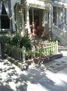 A Victorian's little front garden