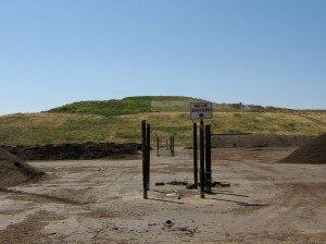 The landfill side of Jepson Prairie Organics