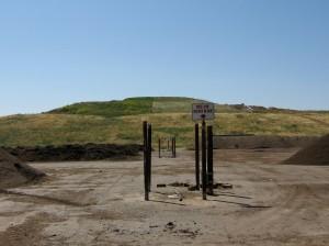 The landfill side of Jepson Prairie Organics