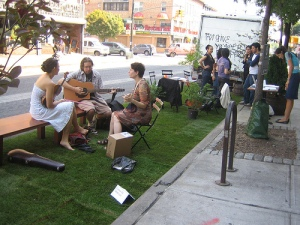 A PARK(ing) Day 2010 installation (photo via Google Images)