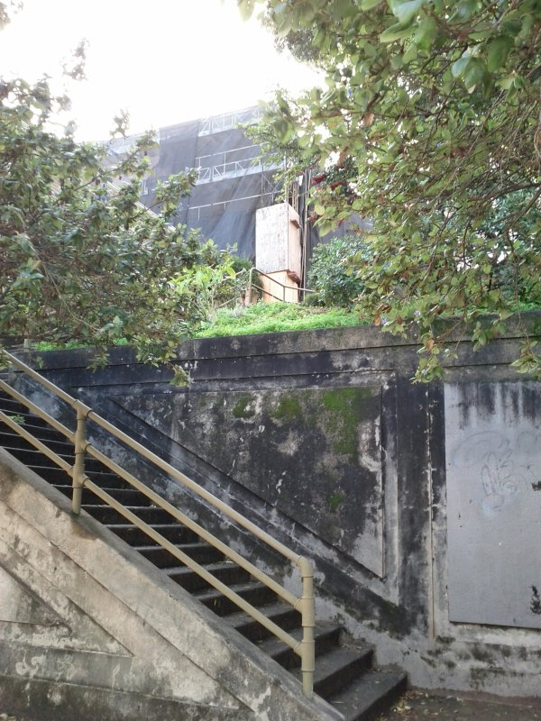 The southern Sanchez steps, at Liberty.