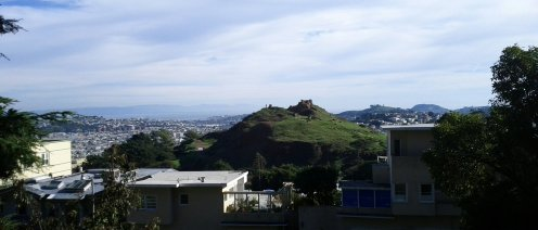 Just a couple of blocks to the southeast is Corona Heights.