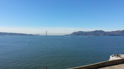 View outward from the Main Road towards the Golden Gate Bridge.