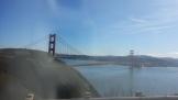 Top of the headlands, looking back towards the Golden Gate Bridge.