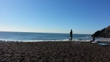 Lotsa surfers out here. What a beautiful place for it!