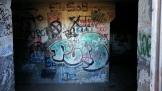 Graffiti under the battery.