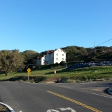 Above the Headlands Visitors' Center is the Marin Headlands Center for the Arts and a hostel.
