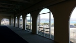 The Observation Post, before the caterers began transforming the space. Nice view of the Golden Gate Bridge out the window!