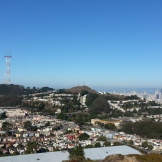Sutro Tower and the downtown skyline.